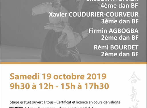 Stage départemental 71 à Mâcon le 19 octobre