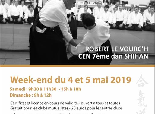 Stage Fédéral à Fontaine-Lès-Dijon les 4 et 5 mai