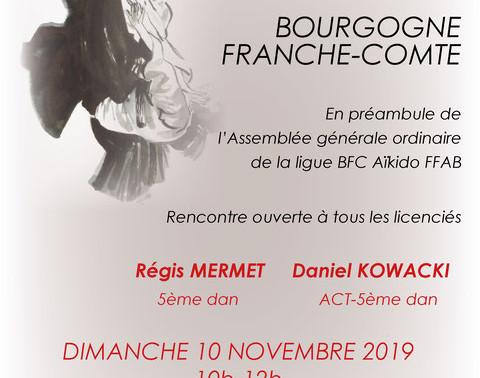 Rencontre Bourgogne Franche-Comté le 10 novembre 2019