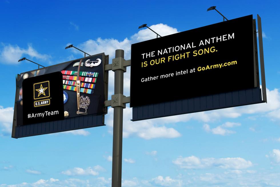 Houska Army Billboard