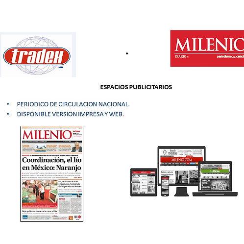 Publicidad en Milenio
