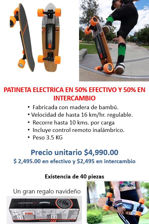 Patineta eléctrica
