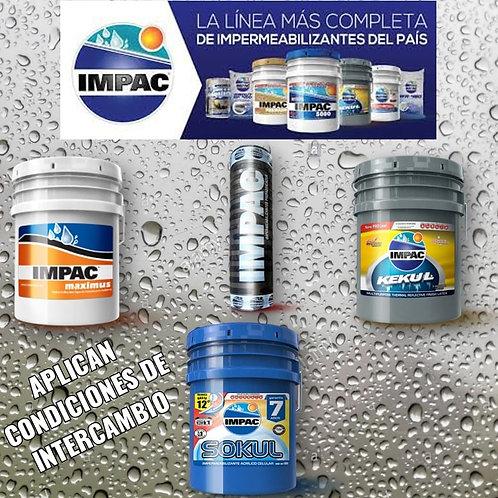 Impermeabilizante marca Impac