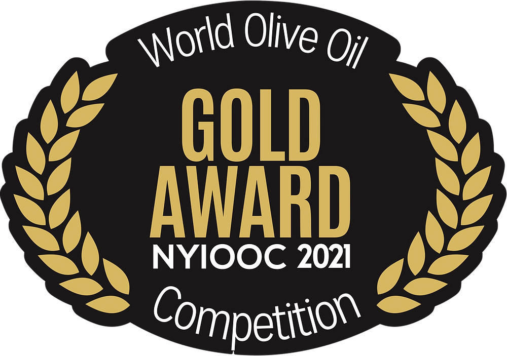 New York International Olive Oil Competition 2021 Gold Medal