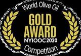 2020 New York Iternational Olive Oil Compertition Gold Medal