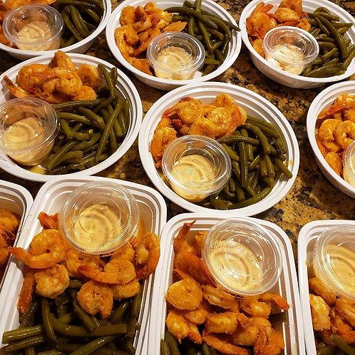 Carb Conscious Shrimp & Green Beans