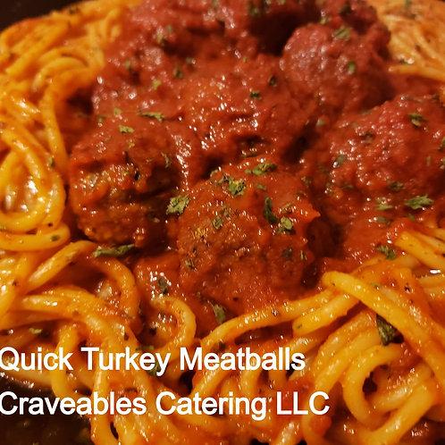 Recipe - Quick Turkey Meatballs