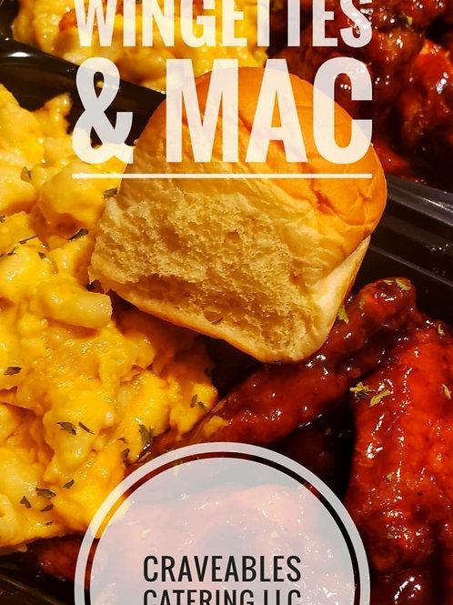 Wings & Mac Combo