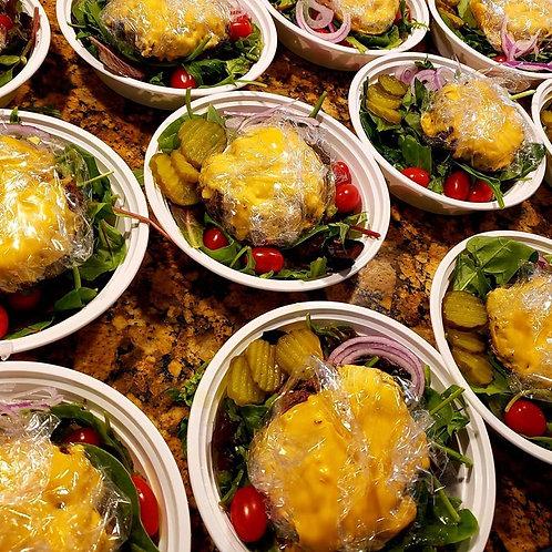 Carb Conscious Cheeseburger Bowl