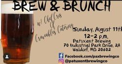 Brew & Brunch 8.11.2019