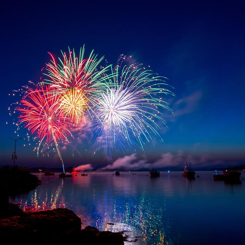 Jacomo Fireworks Raft-Up 2019