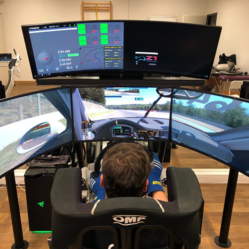 1 Hour of driver coaching on simulator