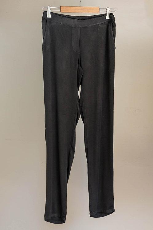 Pantalón con bolsillos de viscosa de Fete