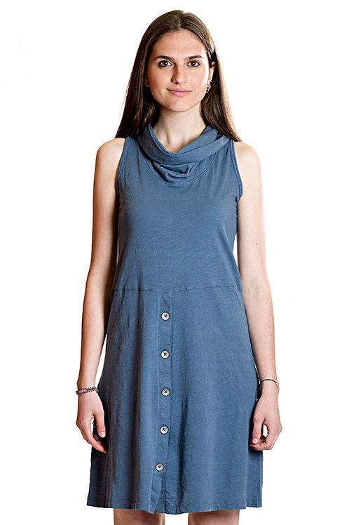 Vestido de verano azul