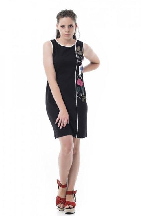 Vestido sin manga con estampado floral Mamatayoe.