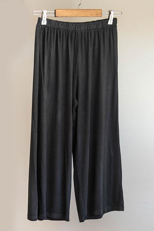 Pantalón pirata de punto ancho de Fete
