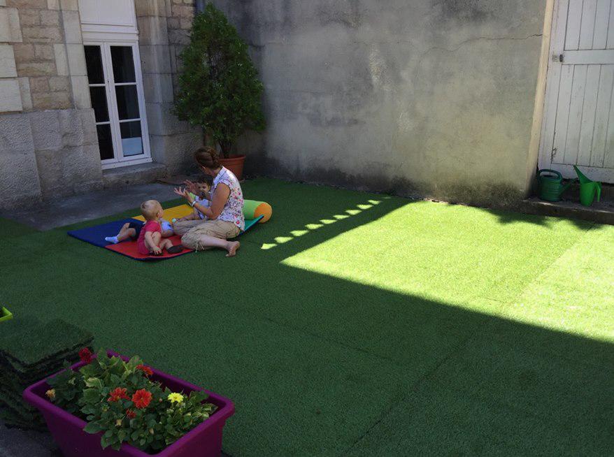 Les terrasses des micro-crèches