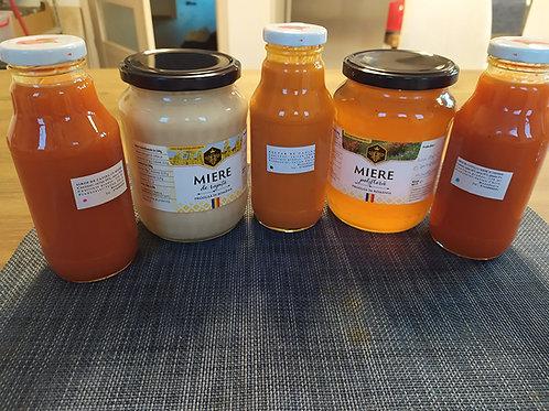 Sirop de catina cu miere și alte produse apicole