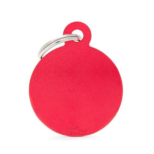 Círculo Aluminio Rojo