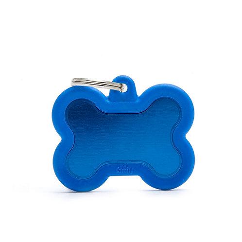 Hueso Hushtag Azul