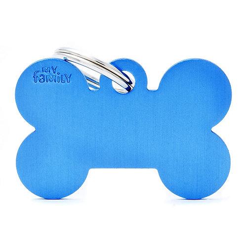 Hueso Aluminio Azul