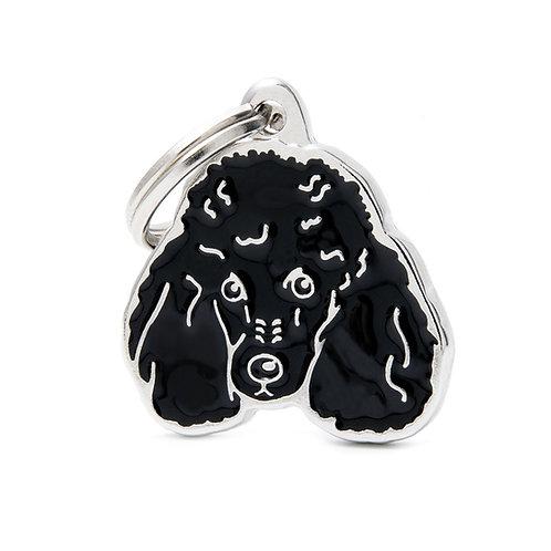 Poodle - Negro