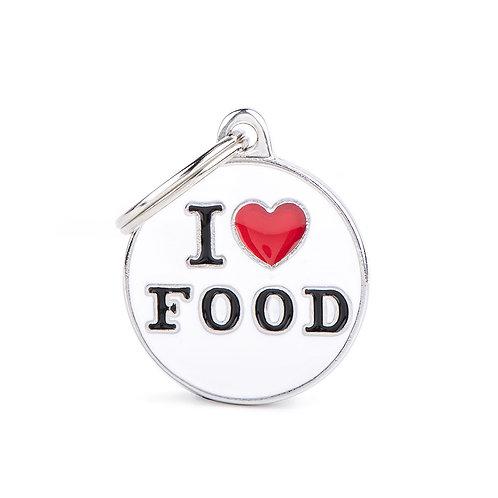 Plaquita I love food