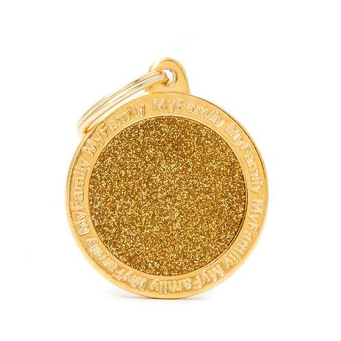 Círculo Shine Dorado