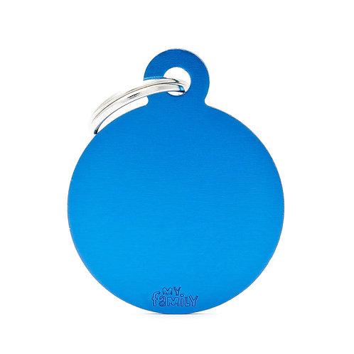 Círculo Aluminio Azul