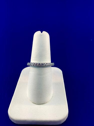 Diamond eternity band 14kt. white gold