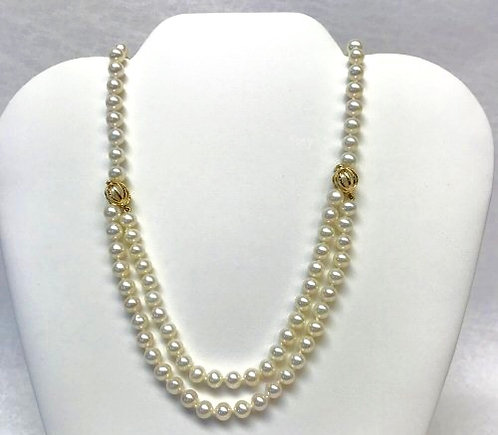 33 inch strand of pearls