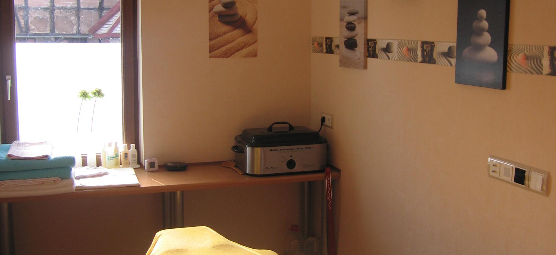 Behandlungsraum HOT STONE