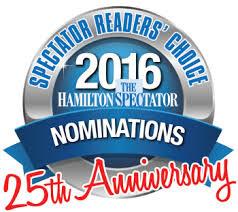 2016 Hamilton Spectator Readers' Choice Awards