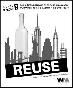 Reuse Glass Advert