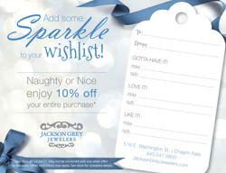 Holiday Wishlist Card
