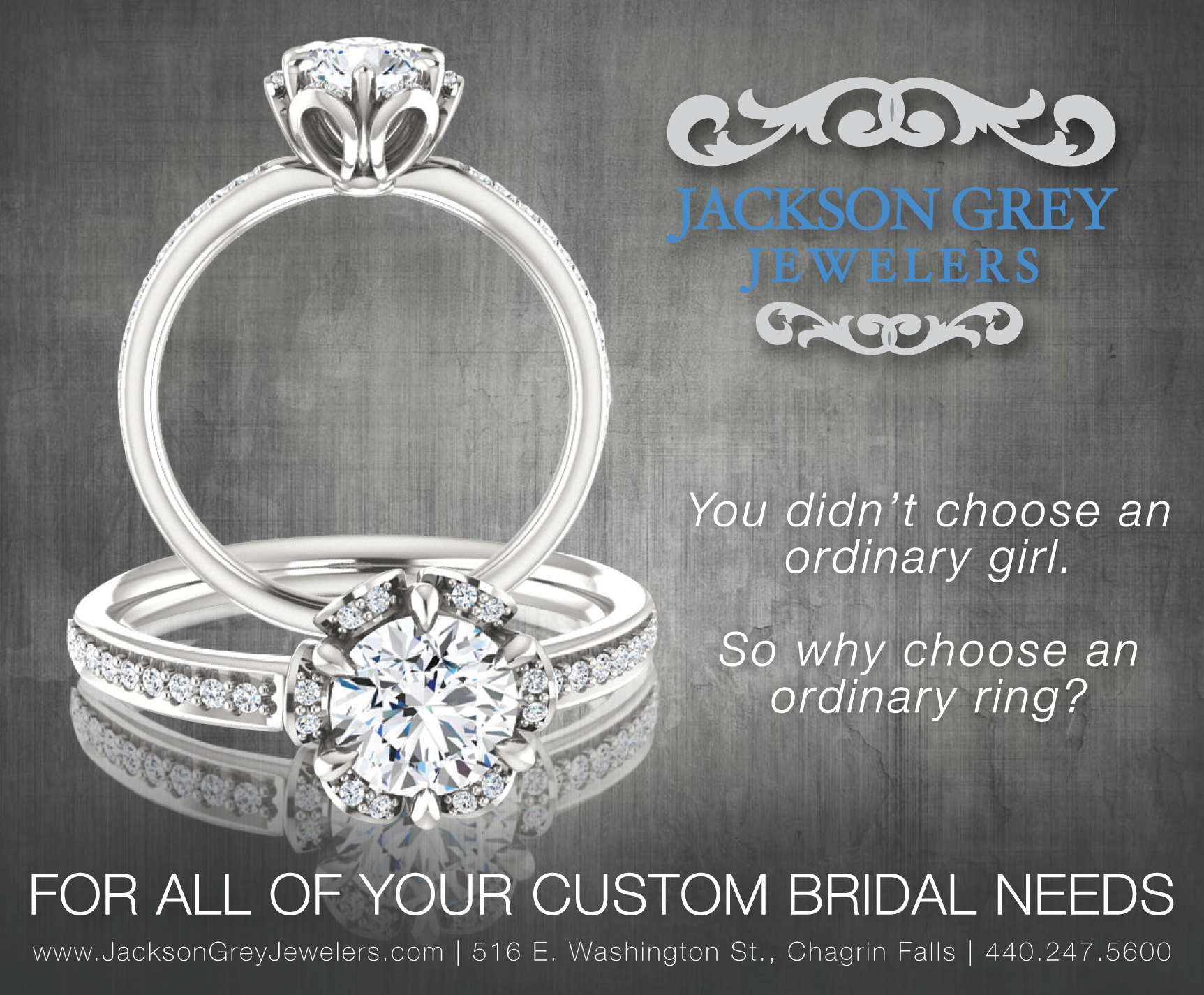 Jackson Grey Ad_Currents Bridal_July15