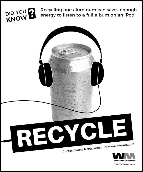 Recycle Aluminum Advert