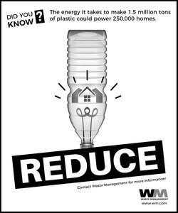 Reduce Plastic Advert