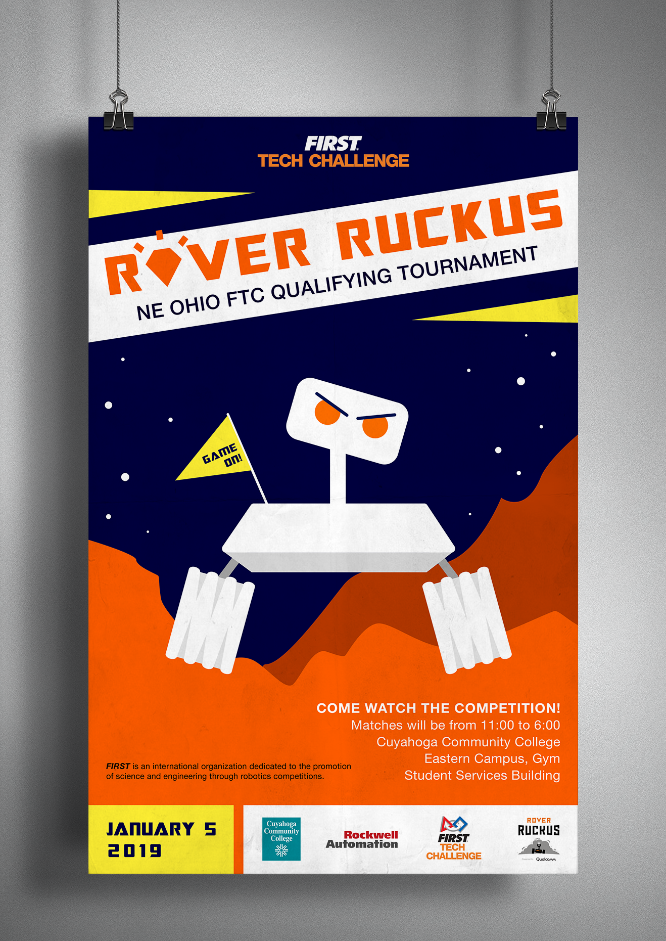 FTC Rover Ruckus Poster