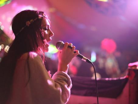 Mainstage at Rollright Festival