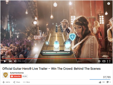 Official Guitar Hero Live Trailer