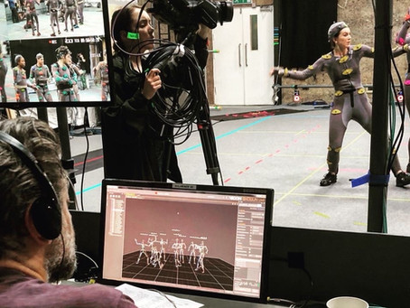 Motion Capture with Andy Serkis at Imaginarium Studios: filming 'The Grinning Man'