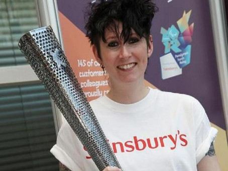 Bushey resident Lara Bloom sees torch she will carry for London 2012 Games Paralympic Torch Relay
