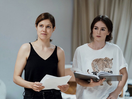 Rehearsal shots from 'Emilia' - West End