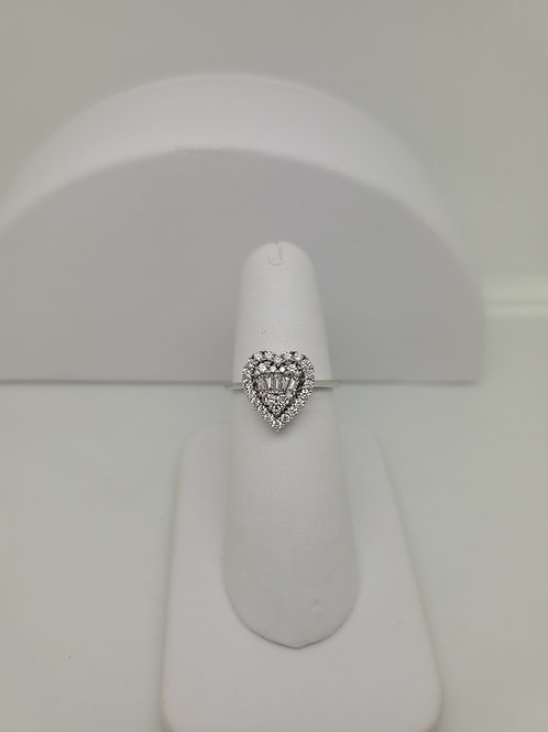 14kw gold diamond ring