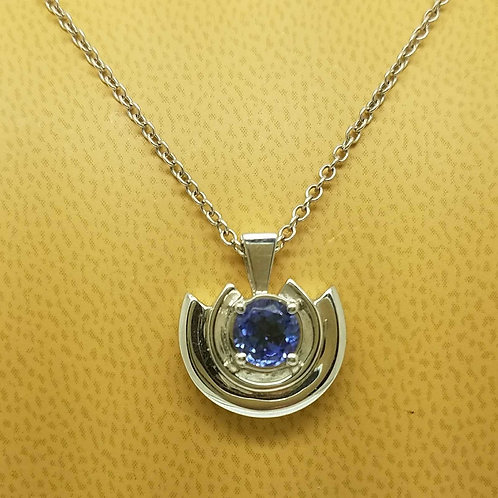 14K LADIES TANZANITE PENDANT