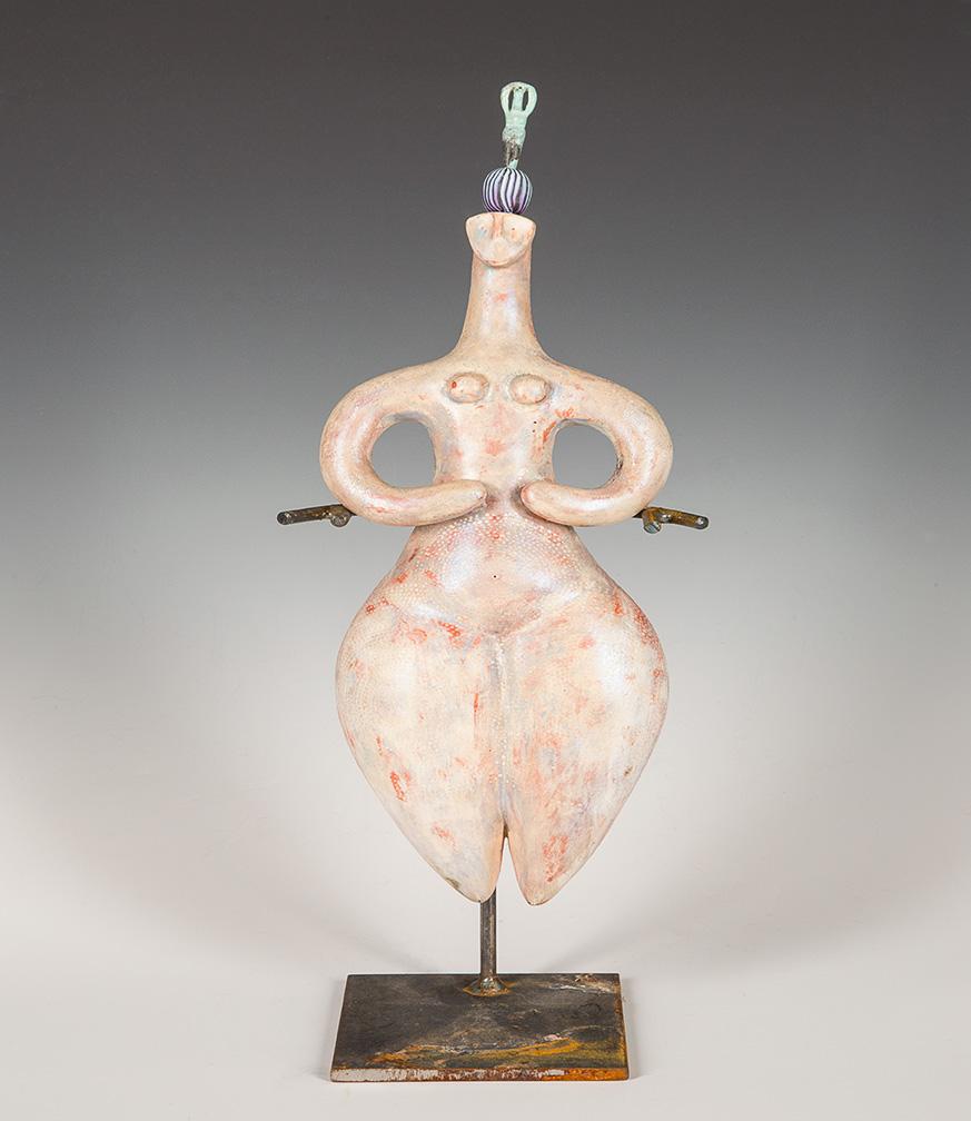 Cycladic Figure White