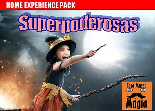 SUPERPODEROSAS. Pack especial para magas poderosas. (Edad 6 a 12 años)