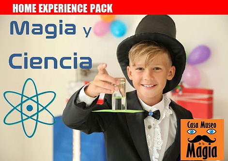 MAGIA Y CIENCIA. Descubrir la ciencia que hay detrás de la magia (+9 años)