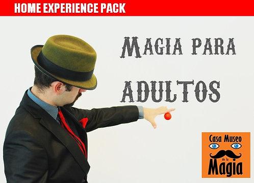 MAGIA PARA ADULTOS. Pack de iniciación pata adultos (Edad +16)